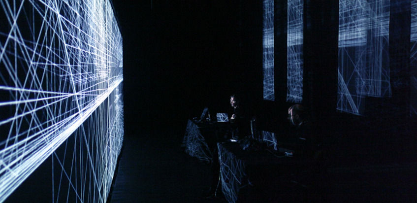 Murcof + Simon Geilfus (Antivj) at (2011-06-02) A/Visions 2: Rapid-eye Dreamers