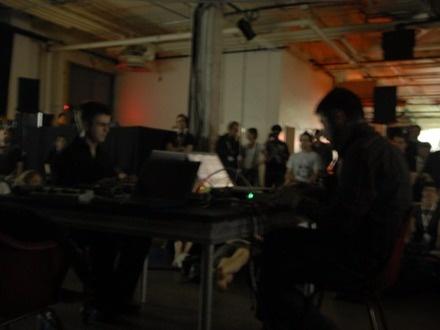Jamie Drouin & Yann Novak at (2007-06-01) A/VISIONS 3