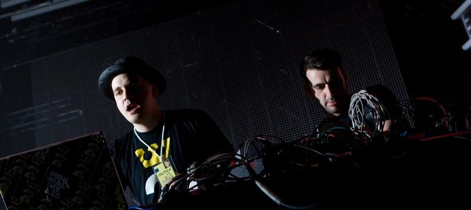 Modeselektor & Pfadfinderei (visuals) at (2008-05-30) NOCTURNE 3: BEATS, MASHES & REMIXES