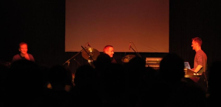 Jaki Liebezeit & Burnt Friedman at (2009-05-28) A/VISIONS 2: Split Personalities