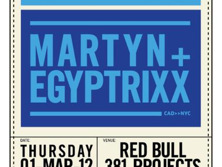 Egyptrixx at (2012-03-01) Red Bull Music Academy & MUTEK present Martyn + Egyptrixx