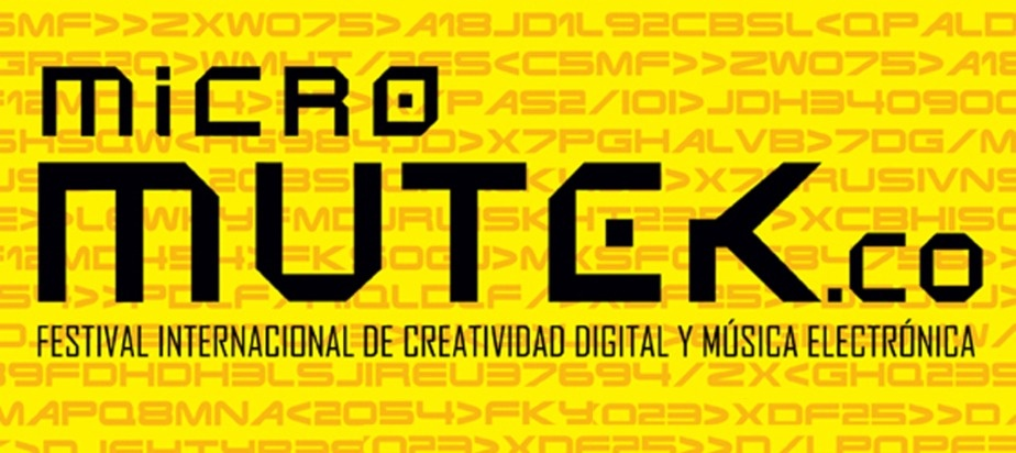 First edition of MUTEK.CO in Bogota!