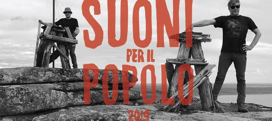 (2019-06-22) Suoni Per Il Popolo presents die ANGEL + Xambuca + France Jobin