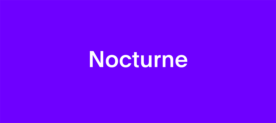 MUTEK Montreal 2019: Nocturne Series