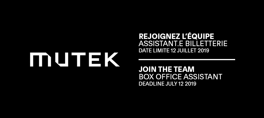 Join the MUTEK Team