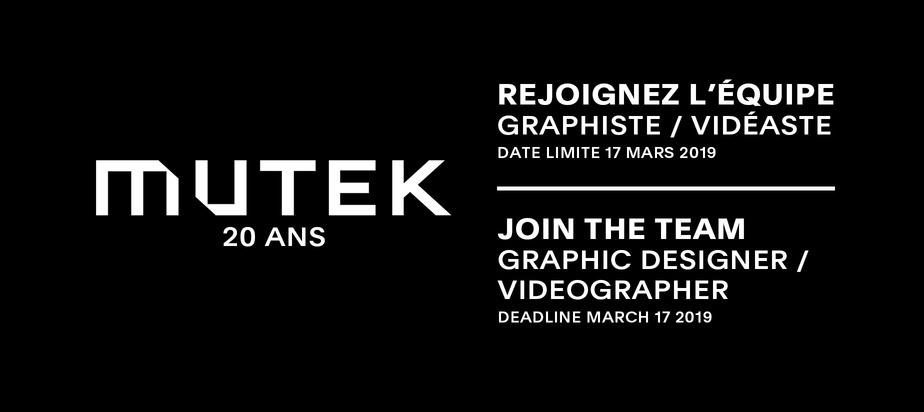 Join the MUTEK Team