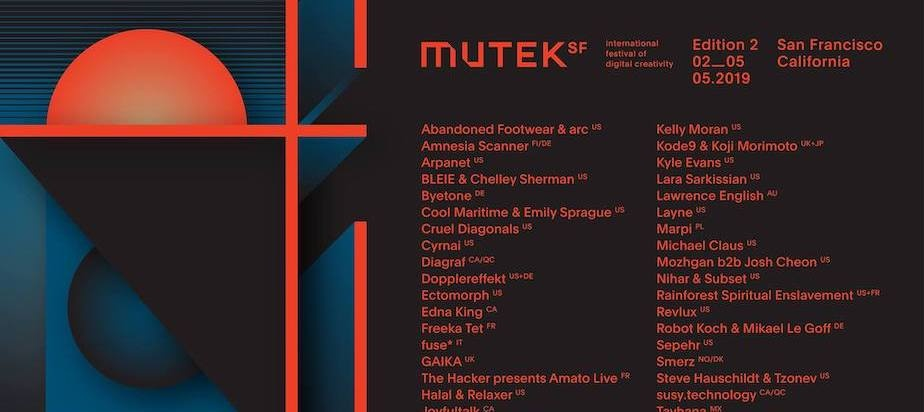 MUTEK San Francisco Announces Second Edition Returning May 2-5