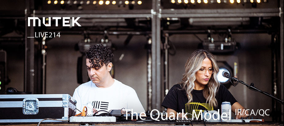 MUTEKLIVE2014 - The Quark Model