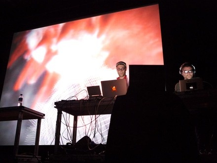 Marc Leclair & Gabriel Coutu-Dumont at (2006-06-01) A/VISIONS 2