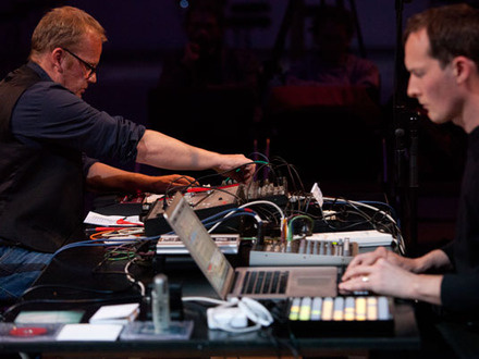 Werner Dafeldecker & Lawrence English at (2012-05-22) Panorama 2: Synescopic (63 min)