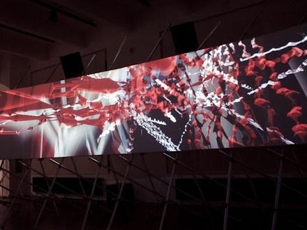 Robert Henke & Tarik Barri at (2012-05-22) Panorama 2: Synescopic (63 min)