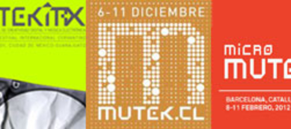 MUTEK festivals in Mexico, Chile and Spain!