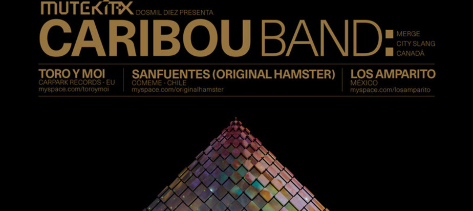 (2010-05-21) MUTEK.MX presents CARIBOU BAND [CA], TORO Y MOI [US], SANFUENTES [CL], LOS AMPARITO [MX]