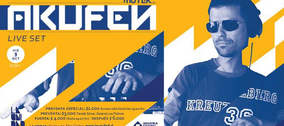 (2009-10-09) MUTEK.CL and La Unidad present Akufen [CA] live