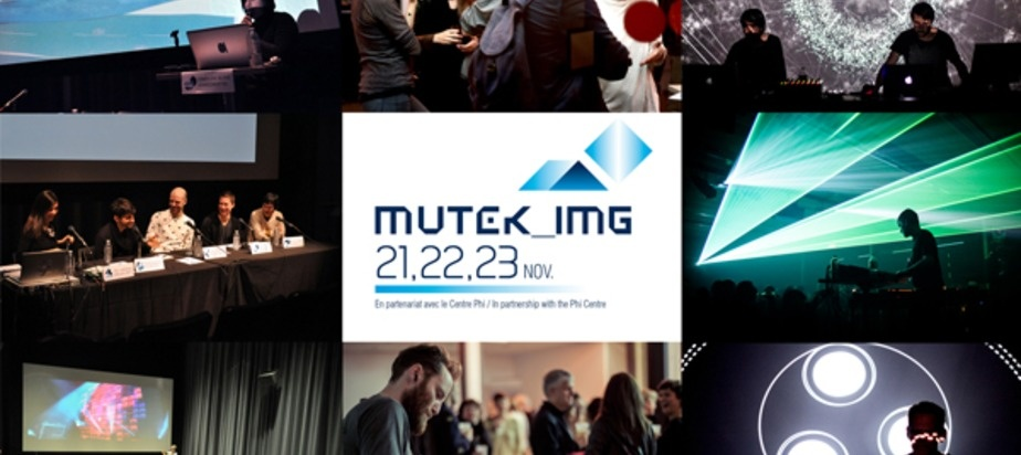 First Edition of MUTEK_IMG Strikes an Optical Nerve