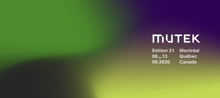 New Dates for Upcoming Edition of MUTEK, with Expanded Presence Online