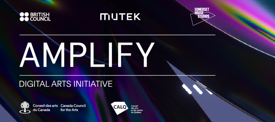 Open call AMPLIFY Digital Arts Initiative 2020: apply before February, 16